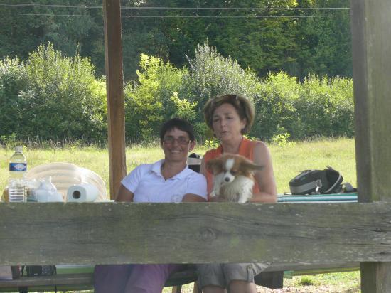 mon amie Barbara et moi